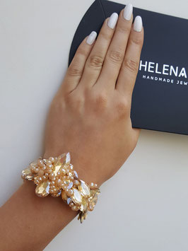 HelenaDia Armband CR20 Special Order* (neutral, gold)