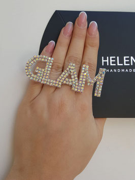 HelenaDia Ring GLAM Special Order* (neutral, gold)