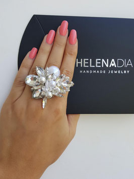 HelenaDia Ring WE1 Special Order* (weiss)