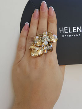 HelenaDia Ring CR22 Special Order* (neutral, gold)