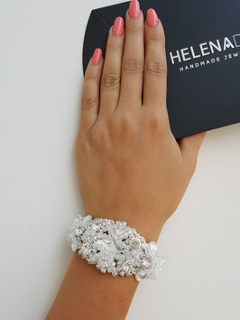 HelenaDia Armband CR32 Special Order* (weiss)