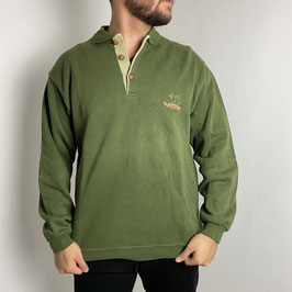 (M) VINTAGE POLO SWEATER