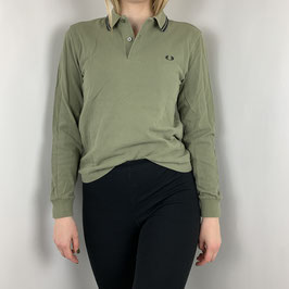 (WMN) (XS) VINTAGE FRED PERRY LANGARM POLO