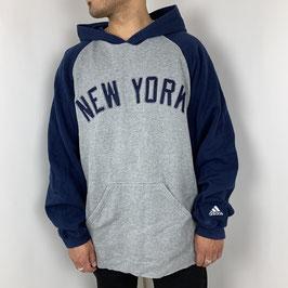 (XL) VINTAGE ADIDAS NY HOODIE