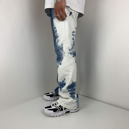 (L) VINTAGE LEVIS 'RE-DYED' JEANS - RA REWORKED