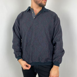 (M) 90S POLO SWEATER
