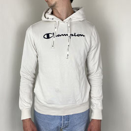 (S) VINTAGE CHAMPION SPELL-OUT HOODIE