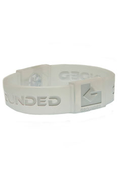 GROUNDED Silikon Armband