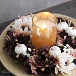 商品名 魔女の食卓・ハロウィンのゴールドキャンドル