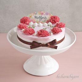 商品名  母の日のカーネーションケーキ雑貨(ボックス付き)