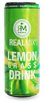 REALMIX LEMONGRASS SOFTDRINK (24 x 250ml)