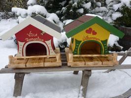 Vogelhaus klein - bunt
