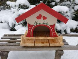 Vogelhaus klein - Liebes Laube