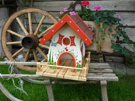 Hochzeits-Vogelhaus