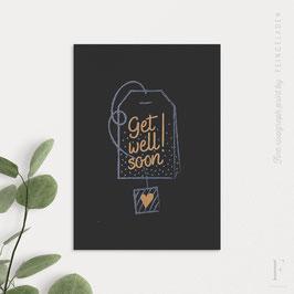 CHALK TALES // Get well soon  (Black Edition)