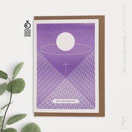 ROUNDABOUT // Chalice »Zur Konfirmation« (Violet)