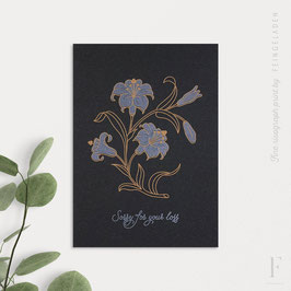 BOTANICA // Lily »Sorry for your loss« (Black Edition)