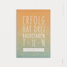 FINE QUOTES // Erfolg (Goethe)