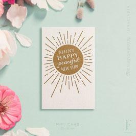 KARAOKE INSPIRED // Shiny happy peaceful New Year – Mini
