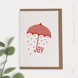 TYPOGRAFICA // Joy (CrimsonRed)
