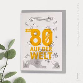 NUMBERS // Seit 80 Jahren (Grey/Sunflower)