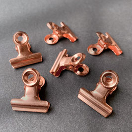 Mini Binder Clips – Set of 6