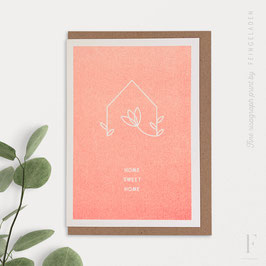 SIMPLY DIVINE // Home »Home Sweet Home« (FluoOrange)