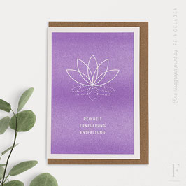 SIMPLY DIVINE // Lotus Flower (DE & EN)