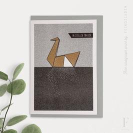 LIKE ORIGAMI // Swan (DE & EN/ verschiedene Farben)
