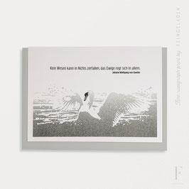 MAGIC WORDS // Goethe Zitat (Black)