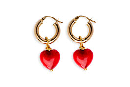 ENDless Heart Exclusive - Gold Hoops