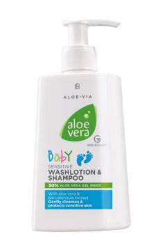 Baby Sensitive Waschlotion & Shampoo