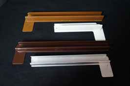 Aluminium Endkappen, alle RAL-Farben