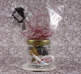 Shit the Glitter - 20er Glas - Weihnachts-Edition