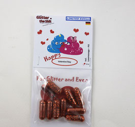 Shit the Glitter - Happy Valentine's Day-Edition
