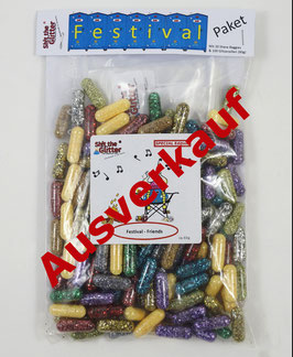 Festival Friends Paket (ca. 60g Glitzerpillen)