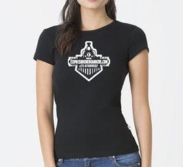 Camiseta Chica Negra Logo Expreso OFICIAL