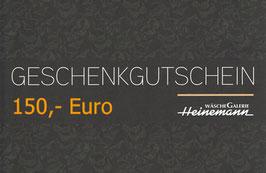 Gutschein über 150,- Euro