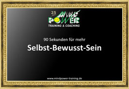 SELBST-BEWUSST-SEIN