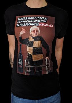Scharfschütze T-shirt Viagra war gestern