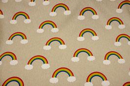 Regenbogen Dekostoff 0,5m