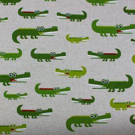 fröhliche Krokodile