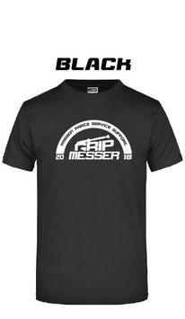 T-Shirt black/schwarz
