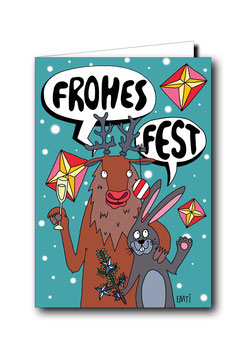 FROHES FEST, HASE & HIRSCH / K-004