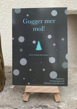 Postkarte Bläckforescht 08 - Gugger mer mol!