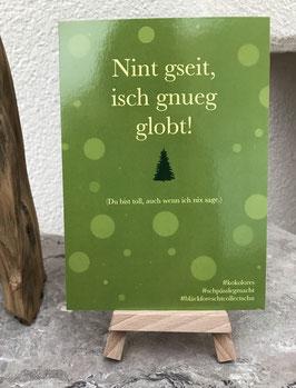Postkarte Bläckforescht 02 - Nint gseit!