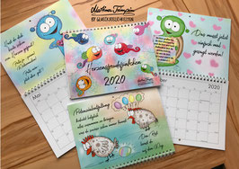 Der Glückseelichkeiten-Kalender 2020