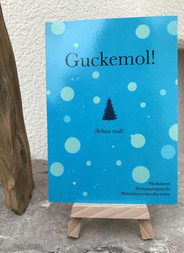 Postkarte Bläckforescht 10 - Guckemol!