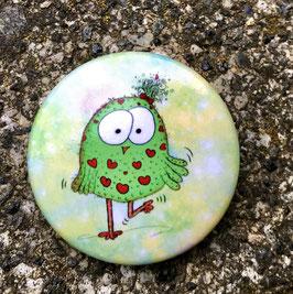 341 Button -  Die kleine Eule