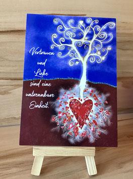 Postkärtle - 380 Vertrauen und Liebe